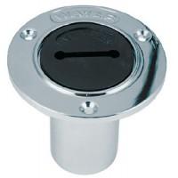 Perko, Water Deck Plate Cap Black, 1270DPW99A