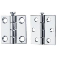 Perko, 1-1/2X1-1/2 Rem Pin Hinge(1Pr, 1293DP2CHR
