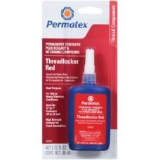 Permatex, Permanent Strength Threadlocker Red, 26240