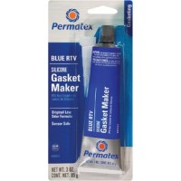 Permatex, Sensor Safe Blue RTV Silicone Gasket Maker, 80022