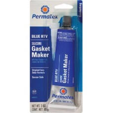 Permatex, Sensor Safe Blue RTV Silicone Gasket Maker, 80022