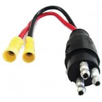 Rig Rite, OEM 2 Wire Trolling Motor Plug, 470