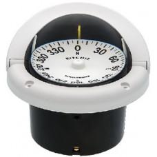 Ritchie, Helmsman Compass-Flush Mt., Flat Dial, White, HF742W