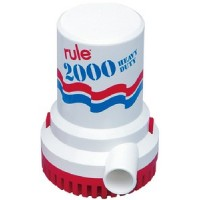 RULE 2000 Pump - 12 Vdc With 6' Wire - Ul Listed