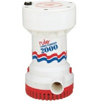 Rule, 2000 Comptrized Bilge Pump 12V, 53S