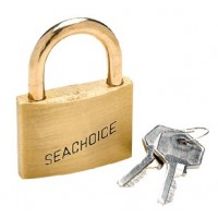 Seachoice, Keyd-Alike Brass Padlock-1 1/, 37311