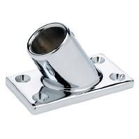 Seachoice, Chrome/Zamak Rectangular Base Rail Fitting, 37901