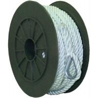 Seachoice, Nylon Anchor Line-Wht-3/8 X50, 40691