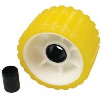Seachoice, Yellow Ribbed Wobble Roller, 56540