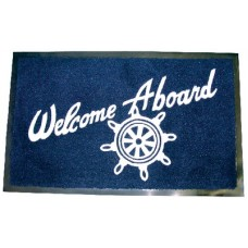 Seachoice, Welcome Aboard Mat, Navy, 78180