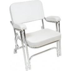 Seachoice, Folding Deck Chair, White, 78501
