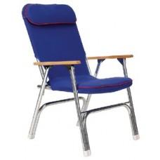 Seachoice, Canvas Folding Chair, Blue, 78511