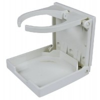 Seachoice, White Adjustable Drink Holder, 79451
