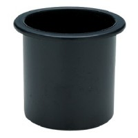 Seachoice, Drink Holder Black Sm Recessed, 79481