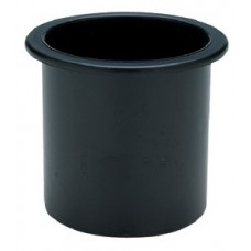 Seachoice, Drink Holder Black Sm Recessed, 79481
