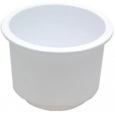 Seachoice, Drink Holder White Lg Recessed, 79490