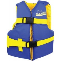 Seachoice, Blue/Yellow Youth Vest 25-29, 86180