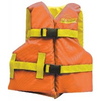 Seachoice, Orange/Yello Youth Vest 25-29, 86190