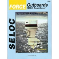 Seloc Manuals, Seloc Marine Tune-Up Manuals, Honda Outboards 1978-2001, 1200