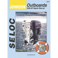 Seloc Manuals, Seloc Marine Tune-Up Manuals, Johnson Outboards All Engines 02-06, 1314