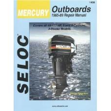 Seloc Manuals, Seloc Marine Tune-Up Manuals, Mercury Outboard 6 Cyl 1965-89, 1408