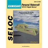 Seloc Manuals, Seloc Marine Tune-Up Manuals, Polaris PWC 1992-97, 9400