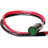 Sierra, Green 12 Volt Indicator Lamp, UN22110