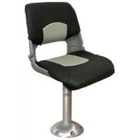 Springfield, Skipper Chair & Pedestal Package, Gray, 1001003