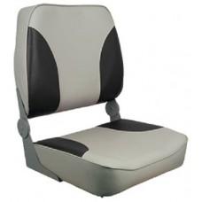 Springfield, XXL Folding Chair, Gray/Charcoal, 1040693