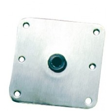 Springfield, 7 x 7 Stainless Kingpin Deck Base, 1620001
