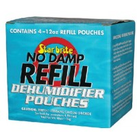 Star Brite, No Damp Dehumidifier Refill, 48 oz. (4-12 oz. bags), 85448