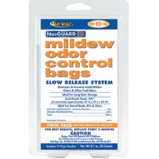 Star Brite, M2DG Slow Release Mildew Odor Control Bags, 10 Grams, 2 Pack, 89950