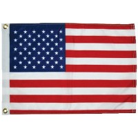 Taylor Made Products, 12X18 Printed 50 Star Us Flag, 2418