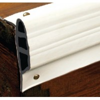 Taylor Made Products, White, Medium Double Molded Vinyl Dock Edging. 10' Straight, 46062