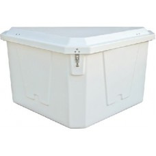 Taylor Made Products, Triangle Dock Box 54Wx33Dx27H, 83561
