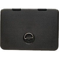 Th Marine, 13 X24 Access Hatch-Black, HAT13241DP