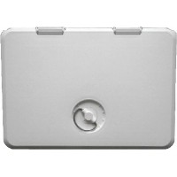 Th Marine, 11X15 Locking Hatch-Polar Wht, HATL11152DP