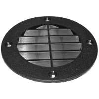 Th Marine, Louvered Vent Cover - Black, LV1DP