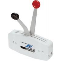 Uflex, Single Function Dual Lever Side Mount Control, White, B47