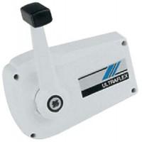 Uflex, Control Box/Sgl Lvr/Side Mt/Wh, B89