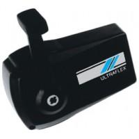 Uflex, Control Box/Sgl Lvr/Side Mt/Bl, B90