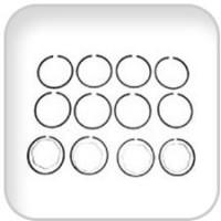 Universal, Ring Set .010, 287873