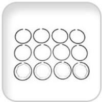 Universal, Ring Set .020, 287874
