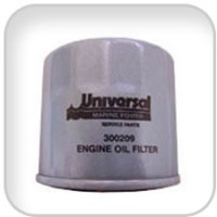 Universal, Filter, Oil, 300209