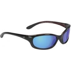 Yachter's Choice, Redfish Polarized Blue Mirror Lens Sunglasses w/Red Crystal Backspray, 42303